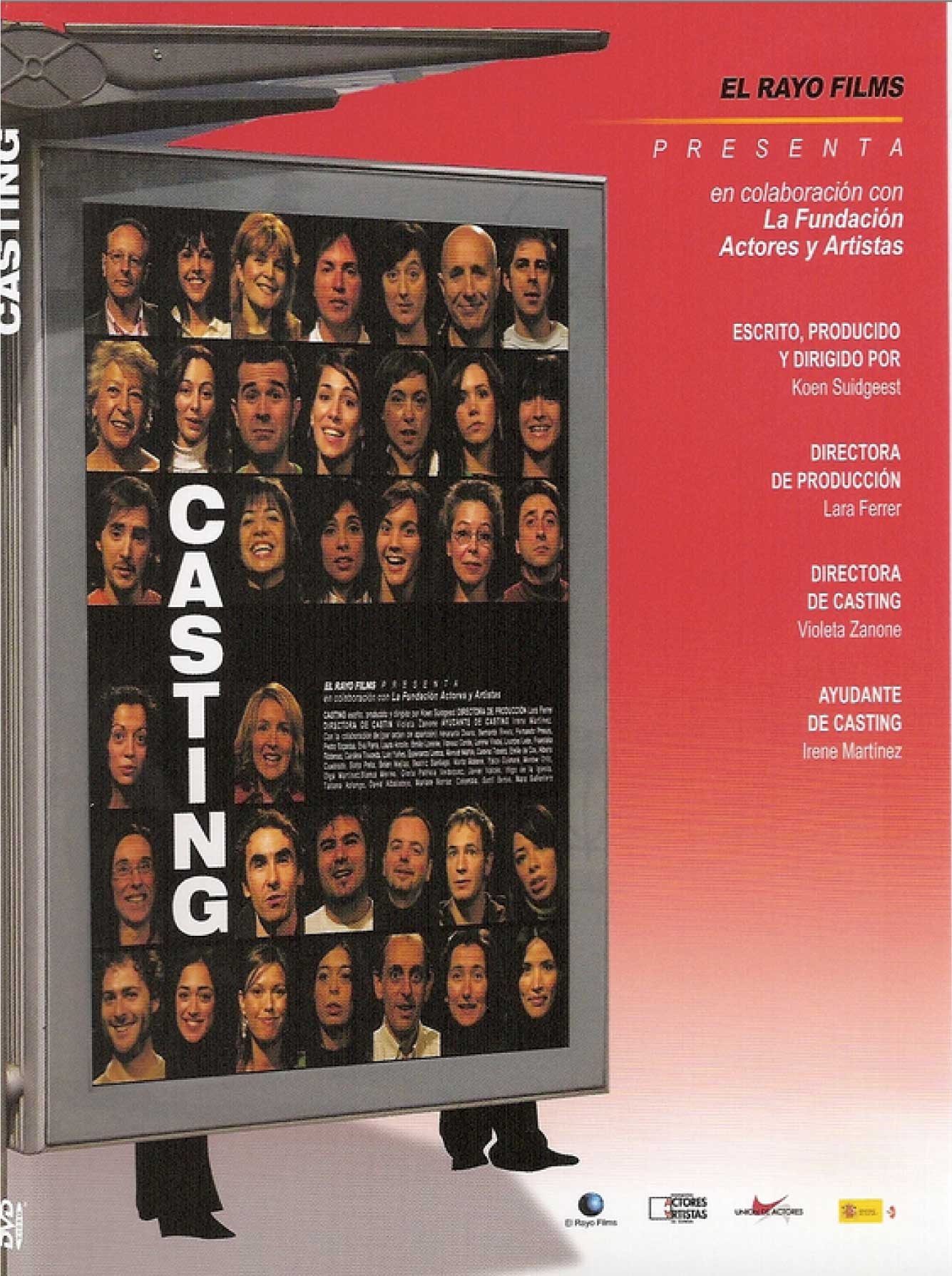 Cartel de estreno de Casting